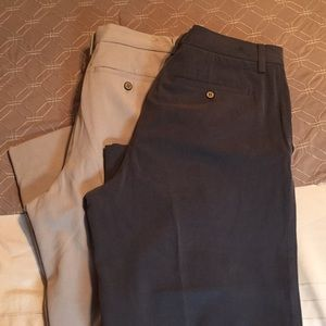 Two pairs tommy bahama chinos